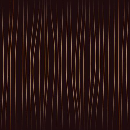 vertical curves brown stripes on a dark background