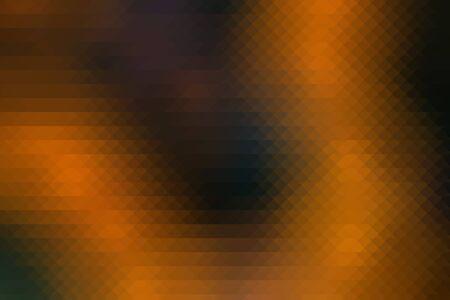 Abstract yellow and black triangular mosaic background photo