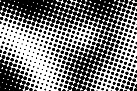 Halftone dots. Black and white dot background. Black dots on white background. photo