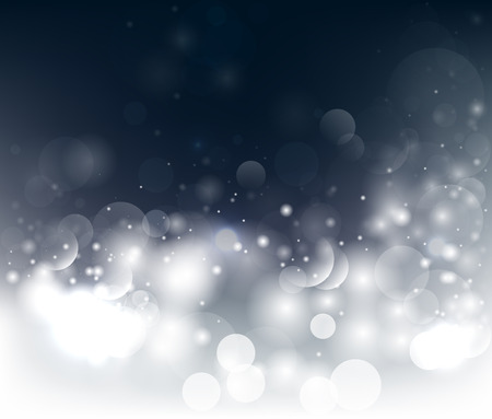 Dark background with bokeh and glow.  Illustration