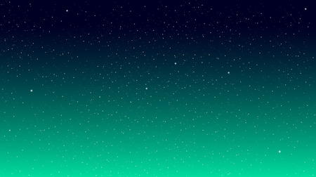 starry: Stars on a colored background. Star Sky Illustration