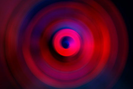 ring tones: Abstract background of colorful spin radial motion blur