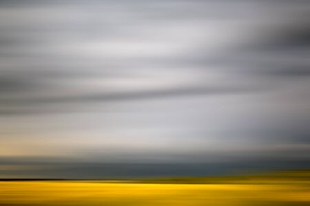 yellow line: Motion blur abstract yellow and gray background with horizontal stripes