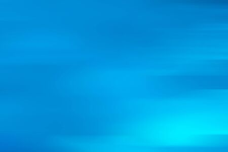 Motion blur abstract blue sea background with horizontal stripes