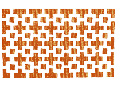 grating: patterned grating Illustration