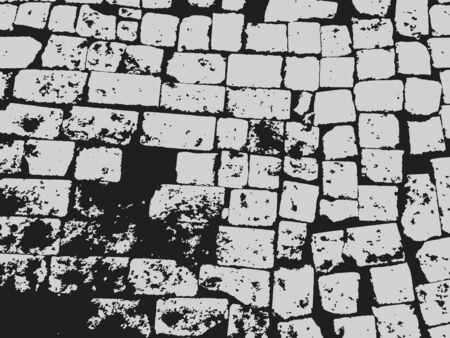 vintage brick masonry