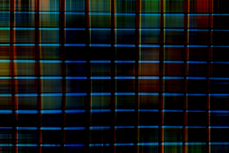 separated: Clean technology abstract background with separated squares. Stock Photo