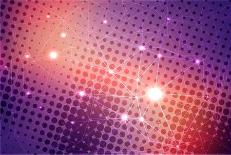 Abstracte kleurrijke achtergrond met sterren vector illustratie EPS10. Vector Illustratie