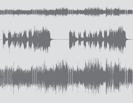 white wave: Gray and white abstract digital sound wave background.