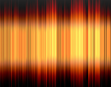 wavelength: Design colorful abstract digital sound wave on a black background.