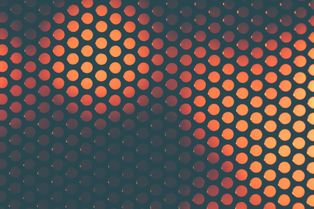 perforated: Perforated grating on the background color blurred abstract backdrop