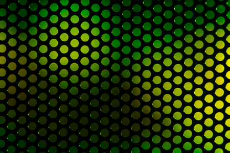 polished netting: speaker grille. Perforated grating on the background color blurred abstract backdrop Stock Photo