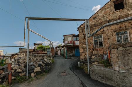 Historic district Kond, Yerevan, Armenia Stock Photo