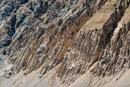 landscape and texture of rock rocks in the rocky terrain Imagens