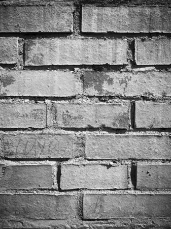 wall of old white brick surface texture designer background
