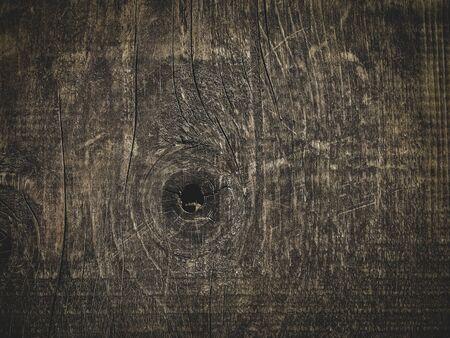 darkened wooden vintage design background