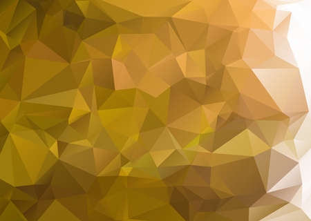 Abstract green background polygon