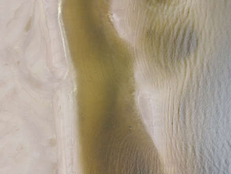 water bottom from above, aerial photo Imagens