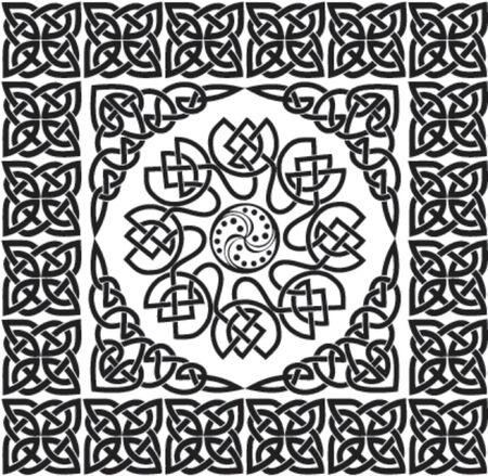 Celtic ornament, VECTOR illustration Vector Illustration