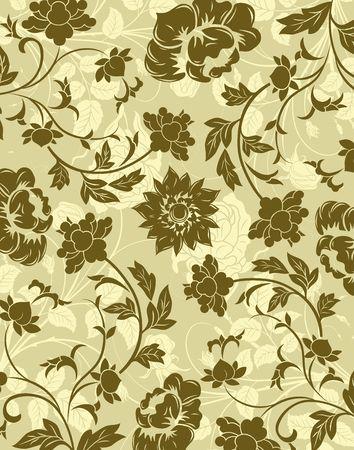 Abstract floral pattern, element for design, vector illustration Stock Illustration - 923485