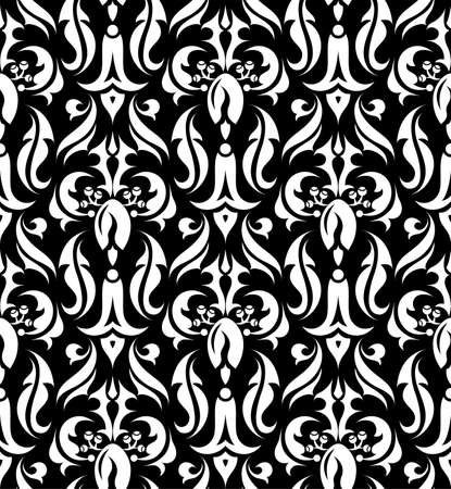 Floral seamless pattern, element for design Vector