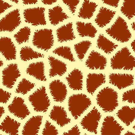 animal print: Animale senza soluzione di continuit� piastrellatura stampare giraffa, illustrazione vettoriale