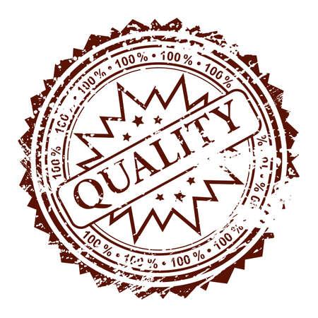 originales: Grunge sello 100% calidad, elemento de dise�o, ilustraci�n vectorial Vectores