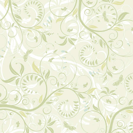 delicate: Flower texture with butterfly, element for design, vector illustration