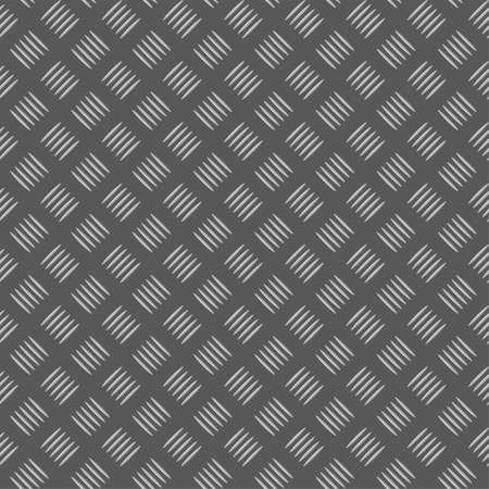 lamiera metallica: Piastra metall senza soluzione di continuit�, elemento di design, illustrazione vettoriale
