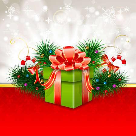 How to make a christmas card gift box
