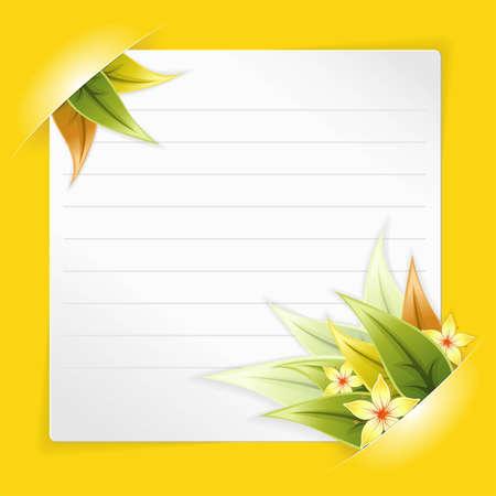 Ostern Rahmen Mit Weißen Blatt Papier Für Ihren Text Oder Fotos, In ...