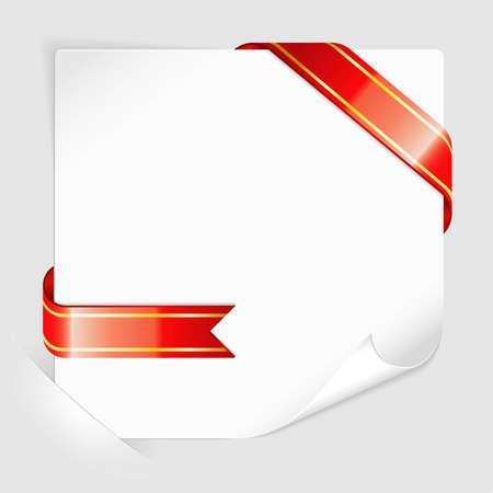 Weißes Blatt Papier Für Ihren Text Oder Fotos, Montiert In Den ...