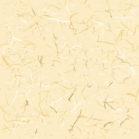 Seamless Texture of Rice Paper, vector illustration  イラスト・ベクター素材