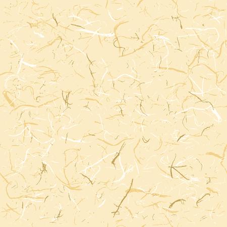 Naadloze Textuur van Rice Paper, vectorillustratie Stock Illustratie