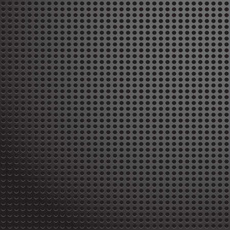 Metal plate grid texture pattern. Vector illustration