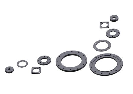 flanges: Manufacturing of flanges