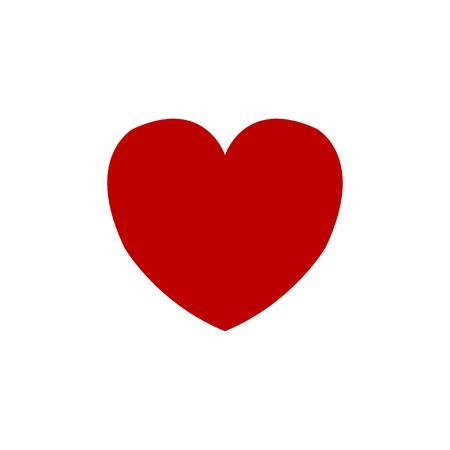 hart pictogram vector. liefde icoon. Valentijn icoon. vector illustratie Vector Illustratie