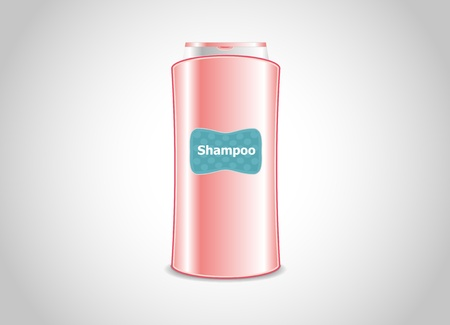 conveniently: Symmetric package of shampoo. Very conveniently and practical. Illustration