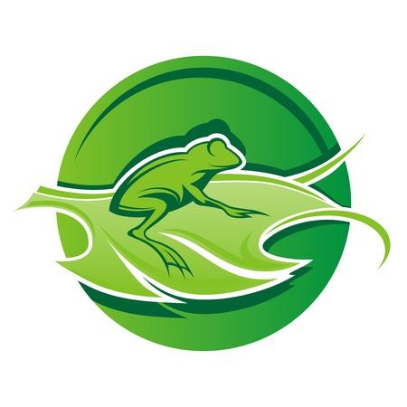 frog_leaf_logo Vector