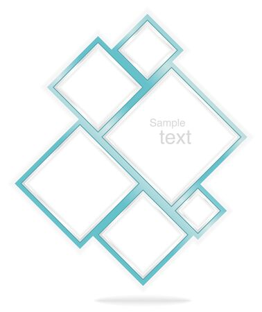 background medical company with silver frames Stock Vector - 18057348