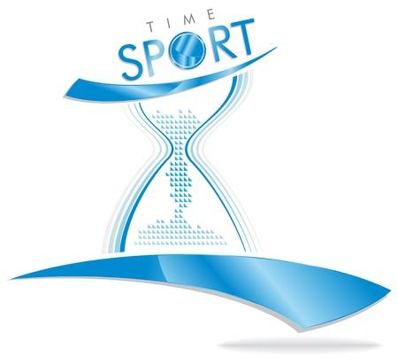 swim race: deporte marca el tiempo para la compa��a de deportes