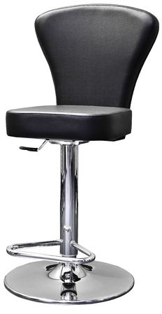barstool: comfortable stool on a white background