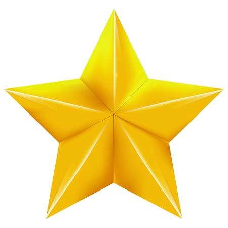 etoile or: �toile d'or sur un fond d'