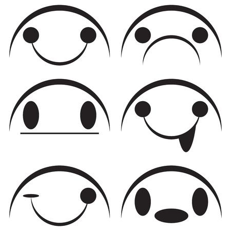 wścieklizna: projektowanie twarzy samodzielnie na białym tle