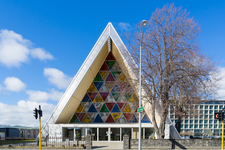 transitional: transitional Cardboard Cathedral