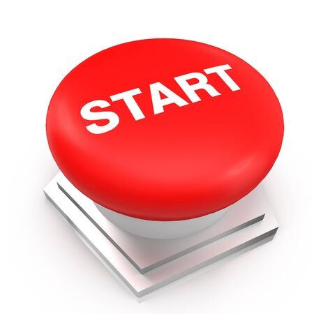 start button: the red Start button on a white background