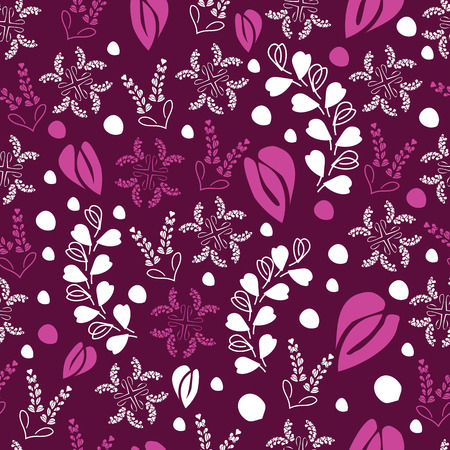Parisian Lace-Love in Parise seamless Repeat Pattern Background. Abstract Pattern of Modern Laces shapes and Lavender Flowers illustration, pink shapes on burgundy Background .Delicate Pattern Background. Surface pattern Design, Perfect for Fabric, Scrapbook, wallpaper. Reklamní fotografie - 118566425