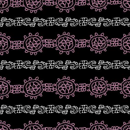 Modern Lace-Love in Parise Seamless Repeat Pattern Background Reklamní fotografie - 118565749