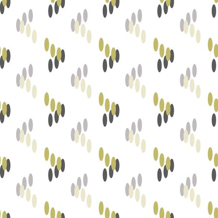 Abstract Grass-Geometric Modern Flowers Seamless repeat pattern background. Abstract grass shapes surface pattern design in grey,white and olive green . Perfect for Fabric, Scrapbook, wallpaper