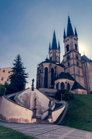 nicolas: Church of St. Nicolas in Cheb (Czech Republic)